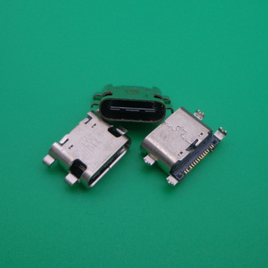 2pcs mini jack socket charging port dock plug repair type C micro usb connector for ZTE C2016 W2016 ZMAX Pro Z981 replacement