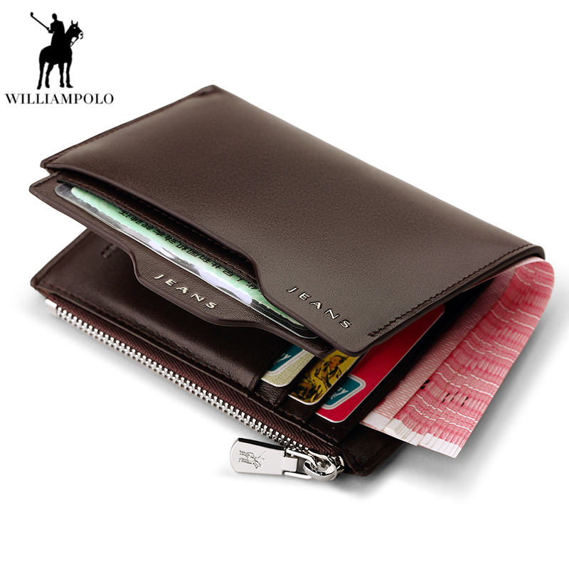 цена на Brand men wallet men zipper purse Clutch bag male wallet Coin Short portfolio Card Pocket Holder high quality Purses PL146