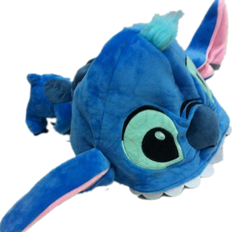 Adult Children Cartoon Plush Cute Mouse Duck Pig Big Eye Mike Tiger Stitch Bear Hats Winter warm Ear Protector   Skullies     Beanies