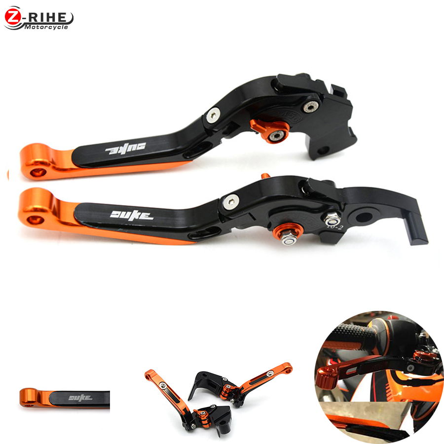 Universal duke All Years Motorcycle Brakes CNC Adjustable Brake Clutch Levers For Dirt bike KTM DUKE 125 200 390 DUKE 2013-2015 320mm floating motorcycle brake disc disks rotor for ktm duke 125 200 390 duke 2013 2016 motorbike front brake disc disks