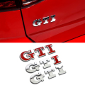 2016 Car Styling 3D LOGO GTI Metal Emblem Sticker Universal Car Badge Racing FRONT DOOR SIDE Tail Decal For VW POLO Golf 6 7