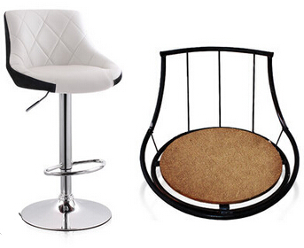 Bar chair lift chair home chair highchair Continental bar stool bar chair Cashier x1 8233 lift bar backrest fashion simple stool cashier rotating cr free shipping
