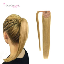 Unprocessed Peruvian Human font b Hair b font Ponytail Extension High Quality font b Brazilian b