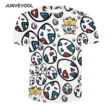 Colorful Eggs t shirts Neue Mode Short Sleeve Workout Sportswear For Men's 3D Printed Harajuku Vogue T-shirts Male 2017 Newly