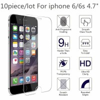10 PCS For iPhone 11 Pro Max 6 6s 5 SE 7 8 Plus X XS XR 8plus 7plus 4 Tempered Glass Screen Protector Protective Film Protection
