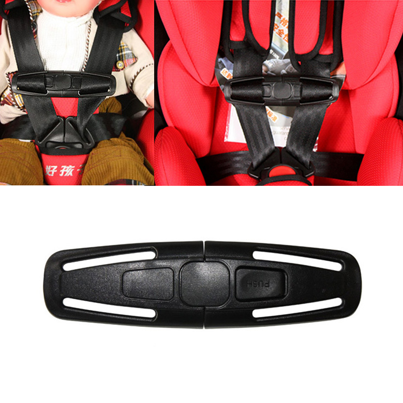1pc Baby Safety Car Strap Seat Belt Cover Child Toddler Chest Harness Clip Safe Buckle Car Accessories For Strollers Safety Seat