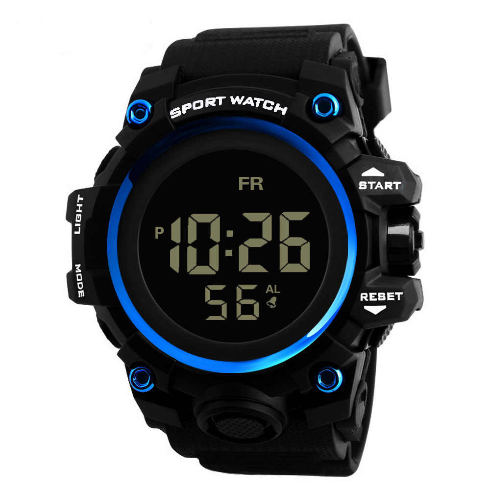 Top Marca À Prova D' Água Militar Do Exército Alarme Digital De Quartzo Relógio de Forma Relógio Do Esporte dos homens Relógio