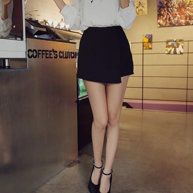 2015 New Woman shorts Summer Ladies Shorts high waist Sexy Casual Trousers beach Culottes Short Pants shorts women