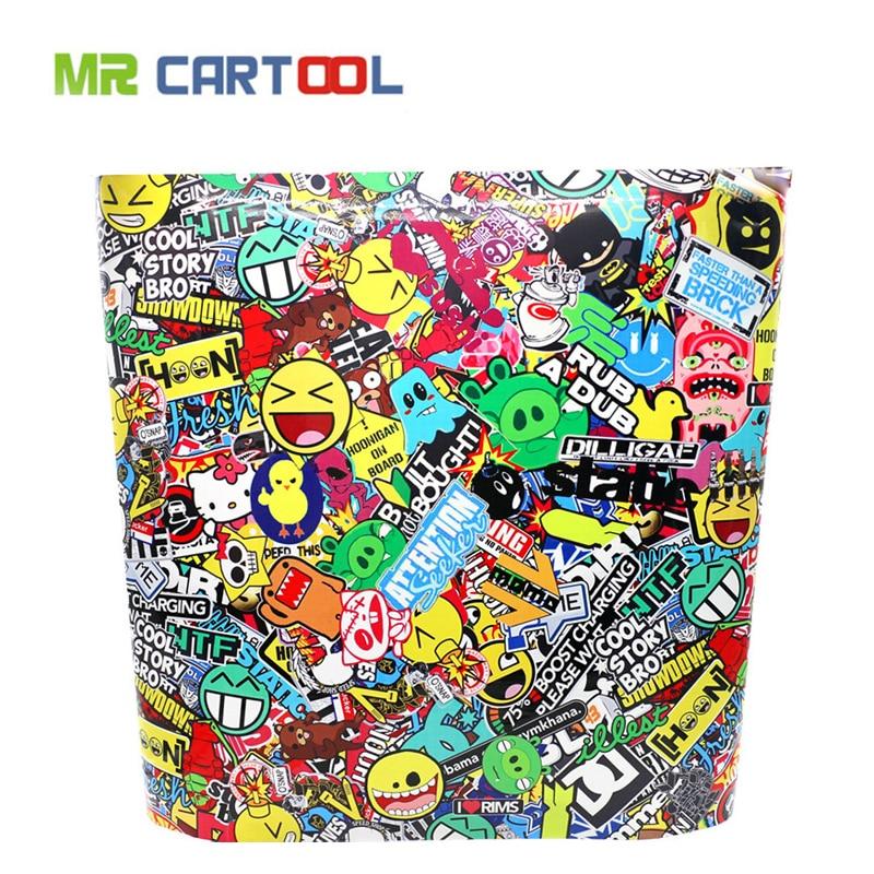 60 x 20 Bomb Vinyl Sticker on Car DIY Graffiti Sticker Bomb Wrap Car Stickers Motorcycle Accessories full car decals bimast bomb premium купить челябинск