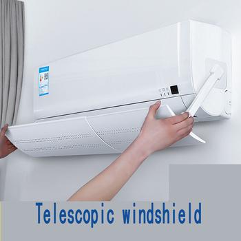 Chowany klimatyzacja osłona przeciwwiatrowa klimatyzator domowy deflektor deflektor sypialnia Anti Direct Blow Windshield tanie i dobre opinie Nowoczesne Air Conditioning Wind