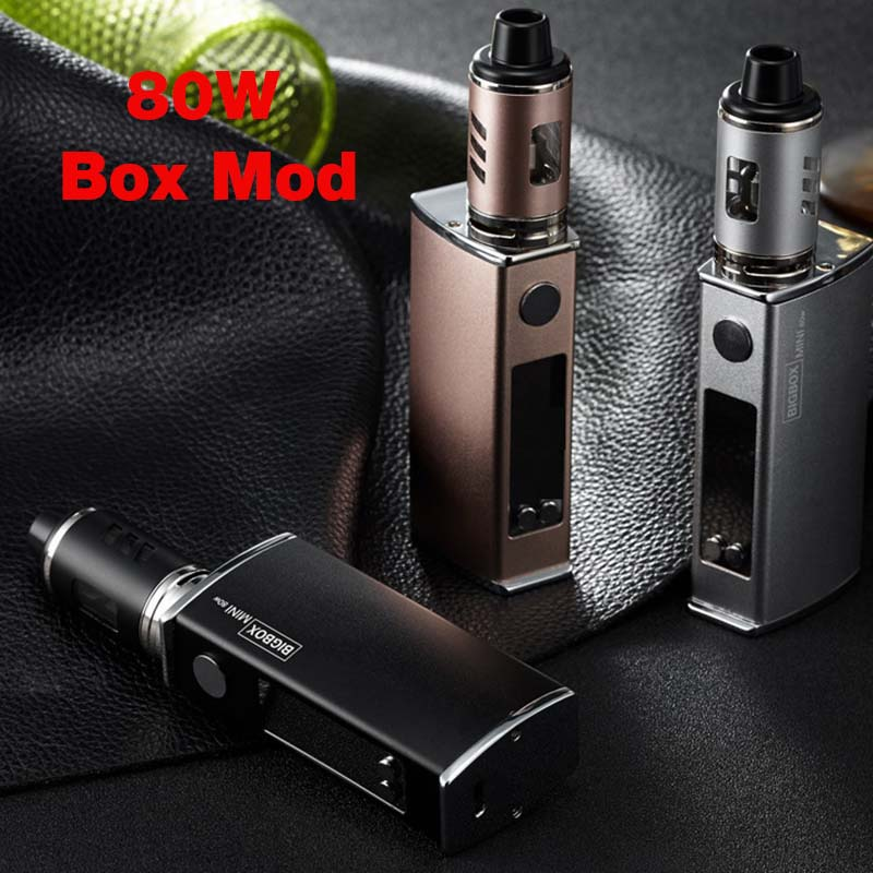 Electronic Cigarette 80W Adjustable Vape Mod Box Kit 2200mah 0.5ohm Battery 3ml Tank E-cigarette Big Smoke Atomizer Vaper