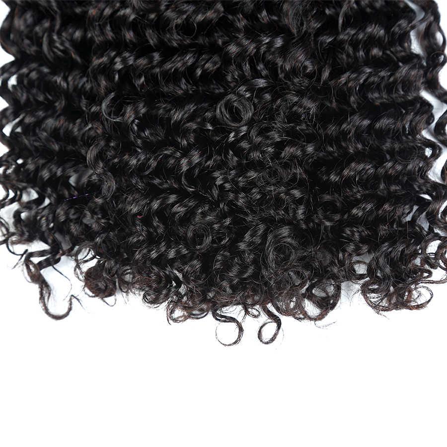 Alidoremi бразильские волнистые волосы 4 шт. человеческие волосы пучки не Реми прядка для наращивания волос натуральный черный Бесплатная доставка