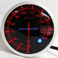 Free Shipping: 60mm Defi Advanced BF Water Temperature Meter Racing Car Water Temperature Gauge White/Red Light
