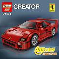 NUEVA LEPIN 21004 F40 Deportes Car1158pcs Kits de Edificio Modelo figuras Juguetes de los Ladrillos Bloques Compatible con 10248