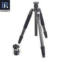Innorel RT85C 25 кг медведь углеродного волокна штатив для цифровых зеркальных камер heavy duty монопод профессиональный двойной панорамный шаровой г