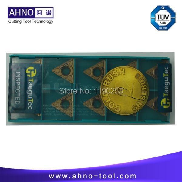 10 unids / lote TCMT16T308PC TT8125 insertos de torno TaeguTec