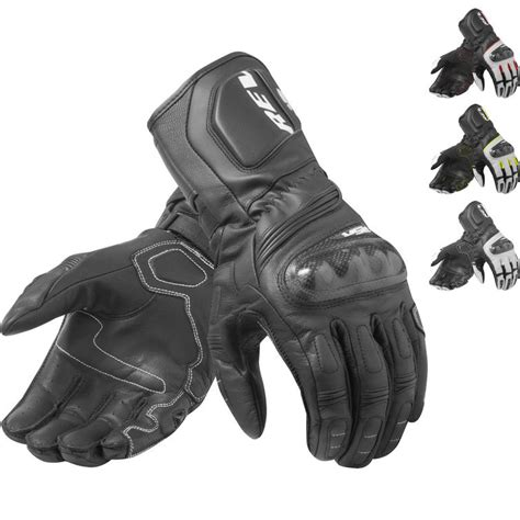 New Black Sports Revit RSR 3 Leather Gloves Motorrad Motorcycle Touring Leather Gloves