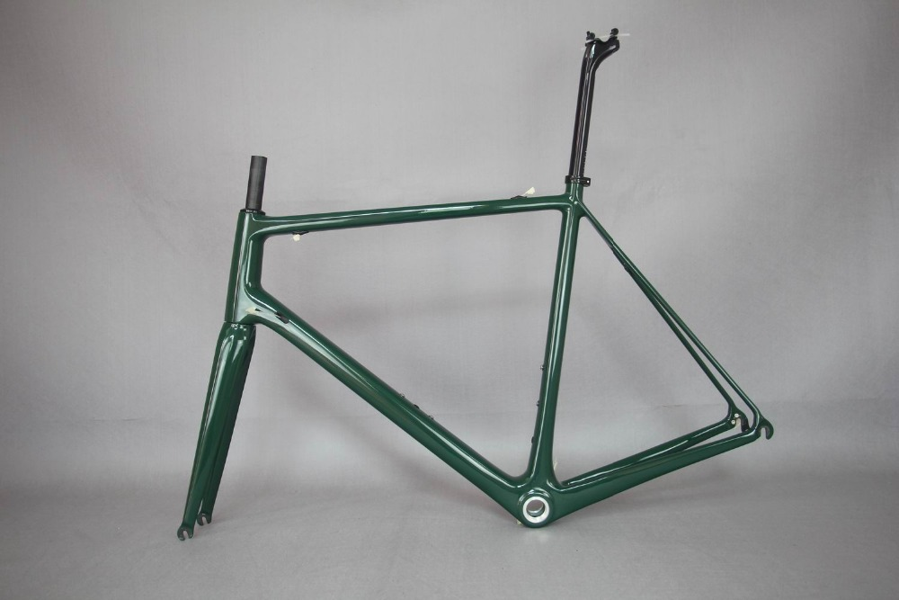 Super Light  Bike Carbon Frame  , Wholesale T1000 Super Light Bicycle Frame . Accept Cutom Paint Bicycle .