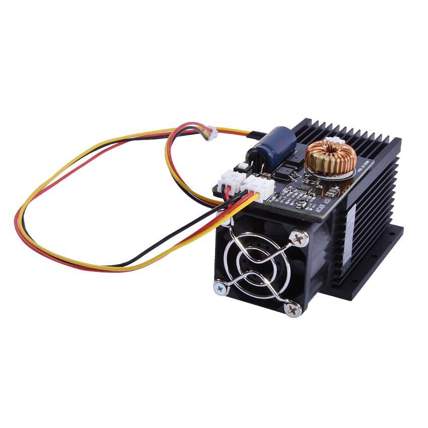 New Arrival DIY Laser Engraving 12000mw High Power Laser Module Blu Ray 450nm Pulse,12W Average 6.5-7.5W,DC=12V, I