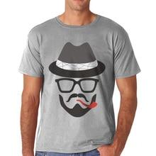 Tshirt discount homme o-neck t-shirt comfortable printing t shirt short sleeve