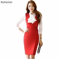 f43651ae7938a5 KoHuiJoo 2019 Women Formal Dresses For Work Summer Ladies Sleeveless Professional  Office Work Dress V Neck