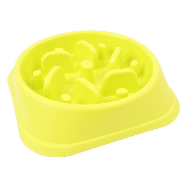 TAILUP Pets Dog Feeder Slow Feed Drink Water Dogs Bowl Healthy Eating Diet Bloat Stop Happy Foraging Bowl For Pet Dog PB023