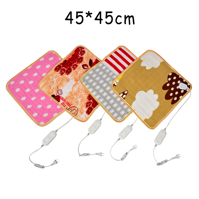 Animal Bed Electric Heating Pad Electric Blanket Plush Heated Chair Mats Electric Foot Warmers Security Heater Seats