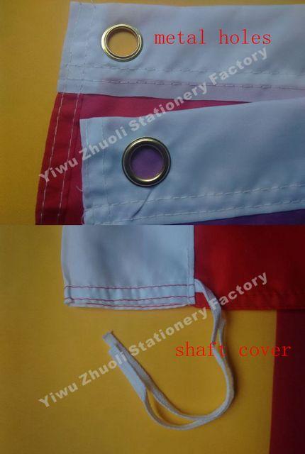 Drapeau du Venezuela   Double vêtement en Polyester 115g 100D, 150x90cm, 3x5 ft, livraison gratuite