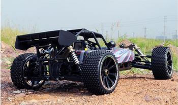 Coche de control remoto de combustible, vehículo todoterreno, vehículo de cuatro ruedas con motor de aceite, coche de control remoto, juguetes para adultos