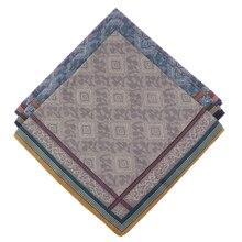 3 шт., классические мужские клетчатые носовые платки для мужчин, хлопок, карманные квадратные носовые платки для свадебной вечеринки, 43*43 см