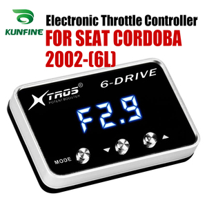 Car Electronic Throttle Controller Racing Accelerator Potent Booster For SEAT CORDOBA 2002-2019 (6L) ALL PETROL ENGINES Tuning