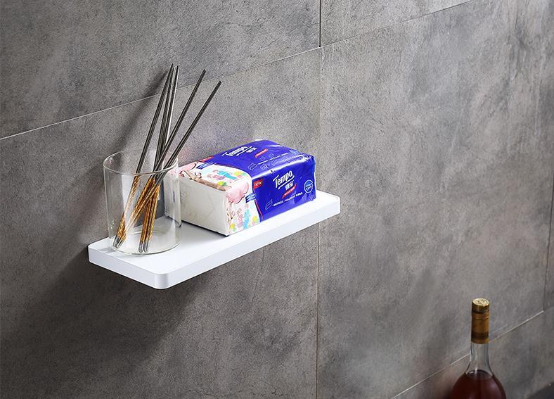 Полка для ванной комнаты подвесная полка для косметики 304 кухонная полка из нержавеющей стали - 2