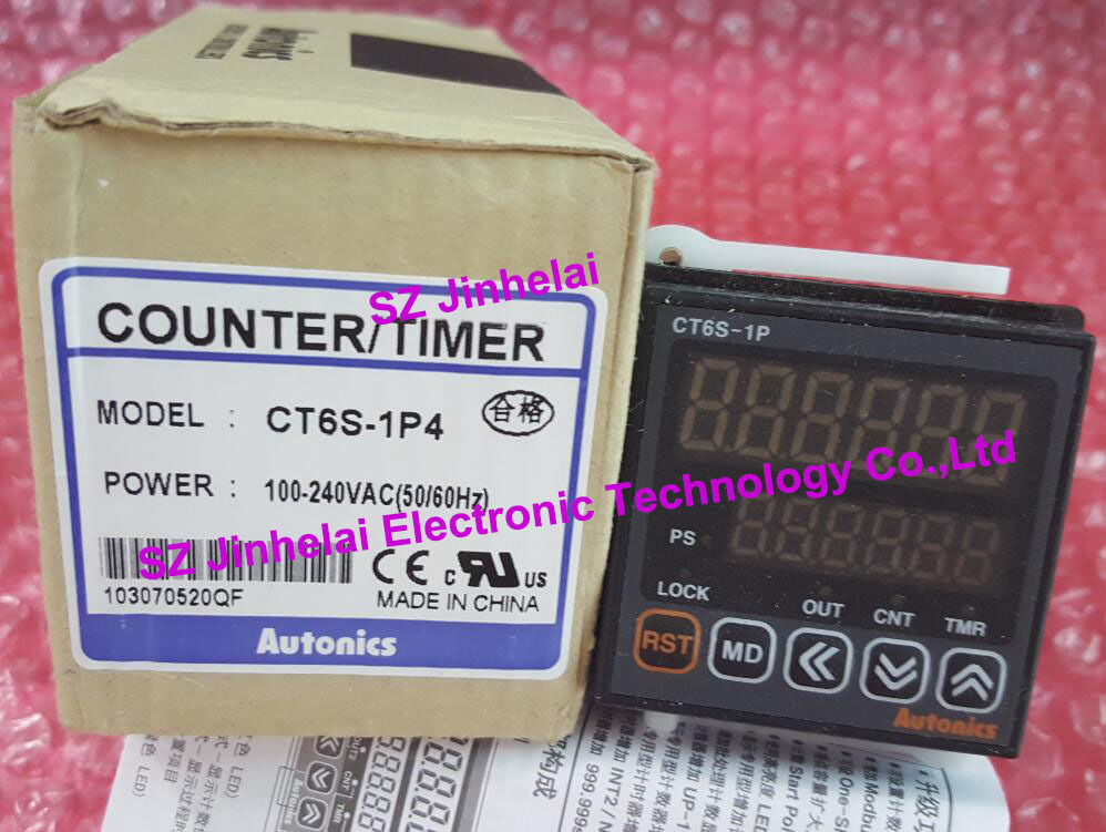 100% New and original CT6S-1P4 AUTONICS Count relay ct6s i2 ct6s i new and original autonics 24vac
