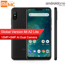 "In Stock! Global Version Xiaomi Mi A2 Lite 4GB 64GB Mobile Phone 5.84"" Full Screen Snapdragon 625 AI Dual Cameras Android 8.1 CE(China)"