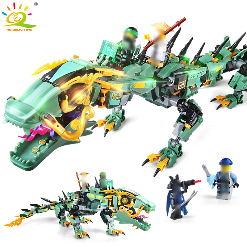 592pcs Movie Series mecha Ninjagoes dragon Building Blocks Compatible Legoed Ninja figures Bricks Enlighten children toy for boy 5pcs lots 2017 film extraordinary corps mecha five beast hand collection model toy