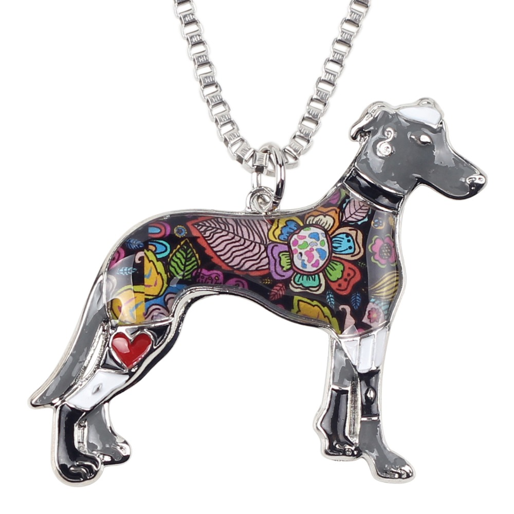 Bonsny Maxi Izjava Metalne legure galije Greyhound Dog Nakit Choker - Modni nakit - Foto 5