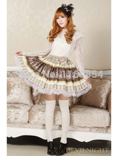 Brown Bow Sweet Lolita Dress