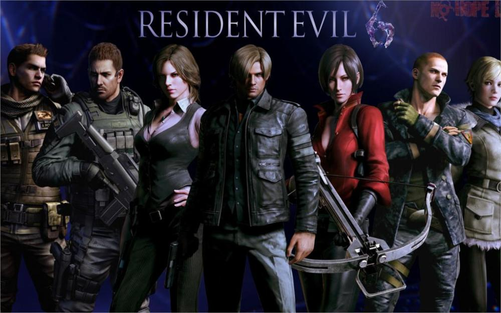 Game Resident Evil 6 Leon Scott Kennedy Chris Redfield 4 Sizes Silk Fabric Canvas Poster Print In Painting Calligraphy From Home Garden On