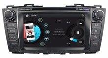 """HD 2 din 8 """"Rádio do carro DVD Player para MAZDA 5/PREMACY 2009-2012 Com GPS de Navegação Bluetooth IPOD TV SWC USB AUX EM"""