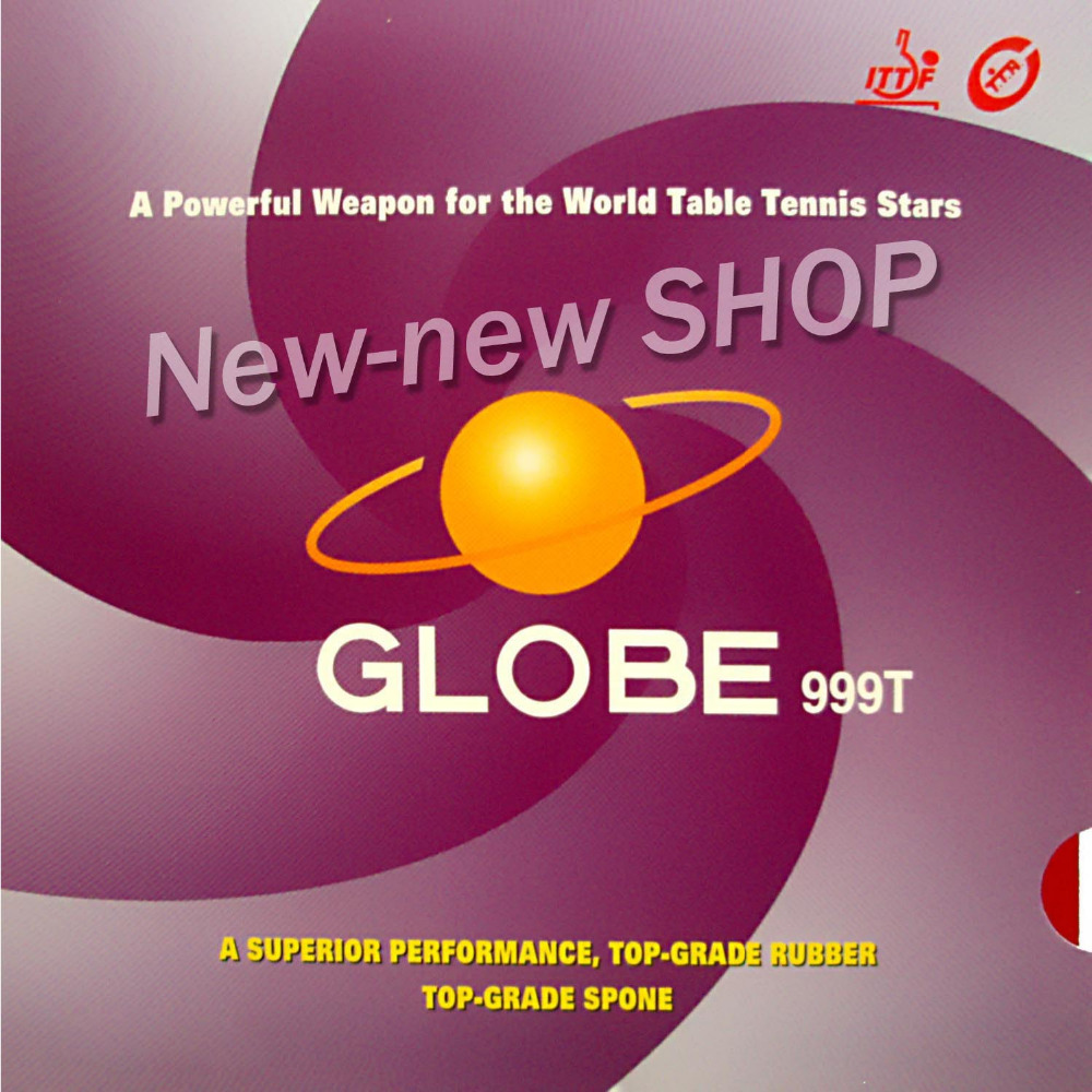Globe 999T (999 T, 999-T) Pips-In Table Tennis (PingPong) Rubber with Japanese Sponge pro table tennis pingpong combo racket globe 522 with globe 999t japanese sponge and 999 999t shakehand long handle fl