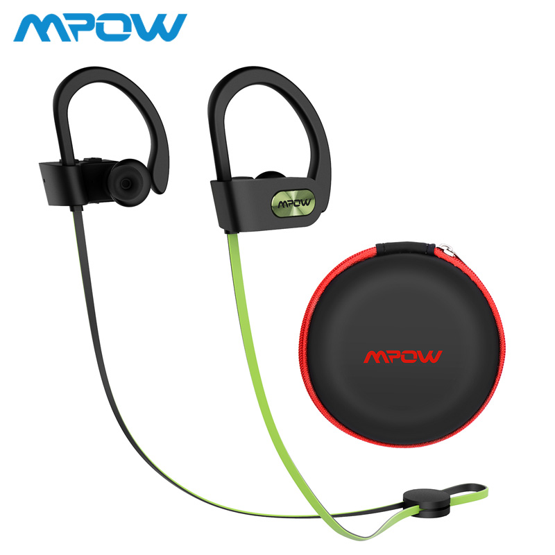 Mpow Flame ipx7 Waterproof Wireless Headphones HiFi Stereo Sports Earphones 8-10h Playing Time For iPhone Xiaomi Huawei Samsung