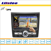 For 2008 2012 Honda City Car GPS Navigation System Radio TV DVD BT IPod 3G WIFI