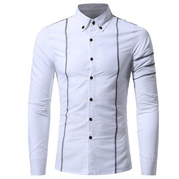 Casual Quality Long Sleeve Mens Dress Shirts