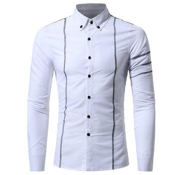 Casual Quality Long Sleeve Mens Dress Shirts