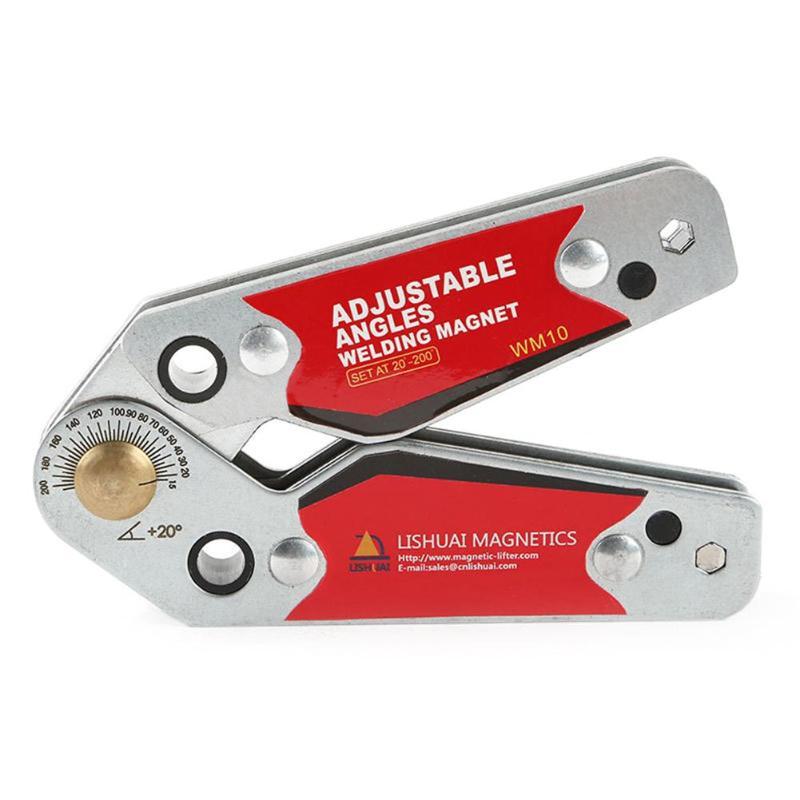 Регулируемый магнитный сварочный локатор магнитный держатель сварной крепеж угловой правый угол зажим легко сварной позиционер внутренний инструмент