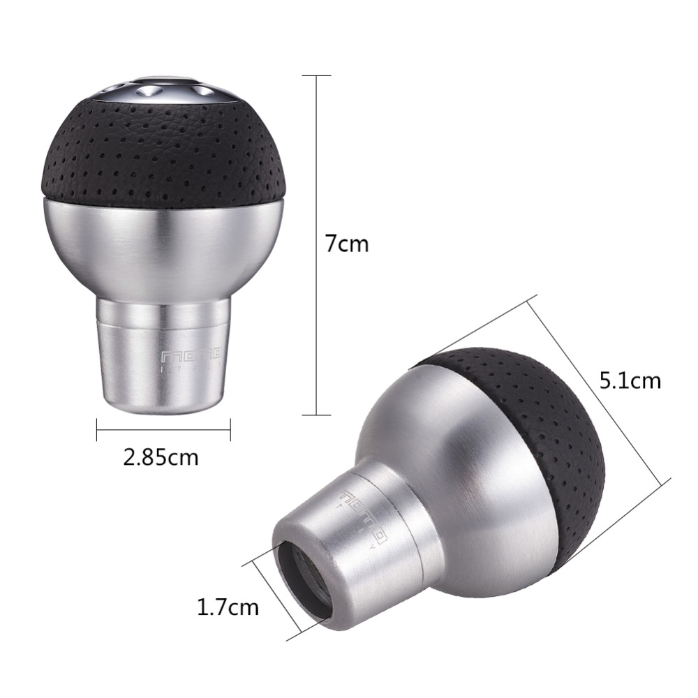 Image 4 - Gear knob Manual Transmission Aluminum Gear Shift Knob Ball Shape-in Gear Shift Knob from Automobiles & Motorcycles