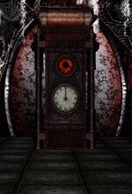 цена на Laeacco Steam Punk Clock Cobweb Vintage Pattern Photography Backgrounds Customized Photographic Backdrops For Photo Studio