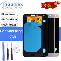 Promotion Dinamico J7 Pro Display For Samsung Galaxy J7 2017 Lcd J730 J730F Display With Touch Screen Digitizer Assembly