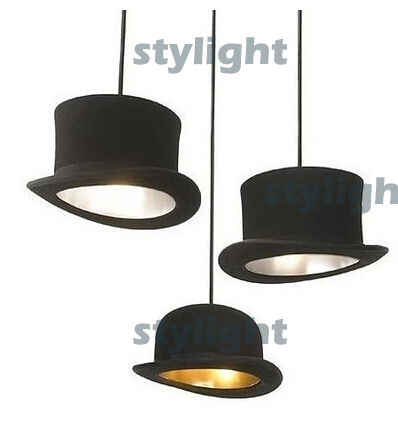 JEEVES AND WOOSTER Hat Pendant Lights Aluminum lamp Innermost modern pendant lamp by Jake Phipps dinning room cafe bar lamps