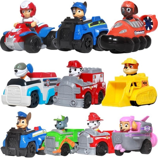 Paw Patrol Dog Puppy Patrol Car Patrulla Canina Toys Action Figures